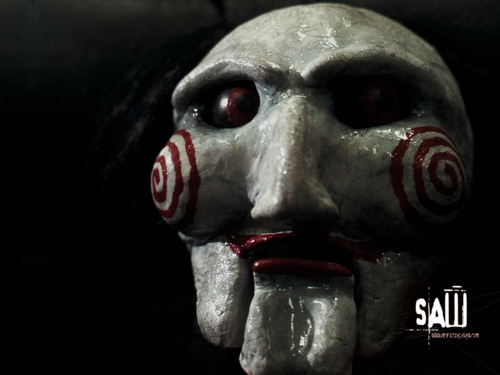 Horror Movies wallpaper entitled Saw Wallpaper