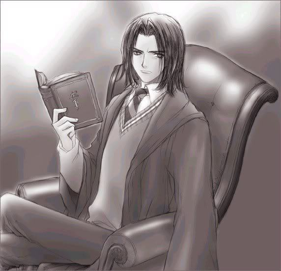 Snape harry spank