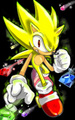 Shadow,Knux,tails,Super Sonic,Boltsryke vs weresonic - shadow-the-hedgehog photo