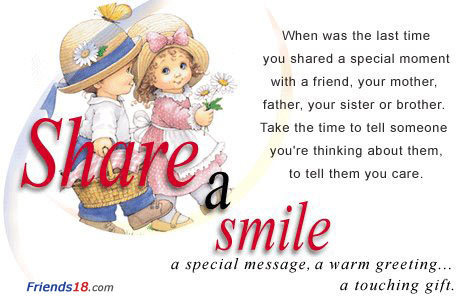 Share a smile