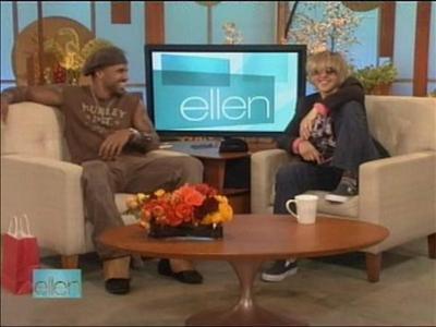 Shemar on Ellen