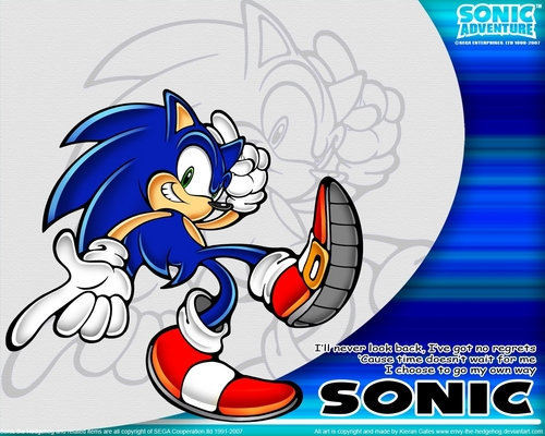 Sonic, Gone With The Wind