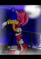 Sonic and Amy's kiss - sonic-and-amy photo
