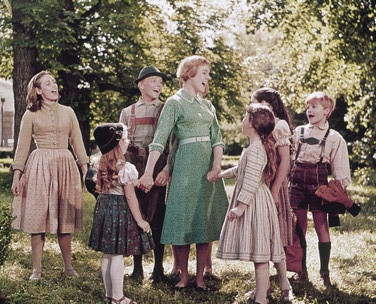 The Sound of Music wallpaper possibly containing a lippizan, a horse trail, and a sign called Maria With The Children