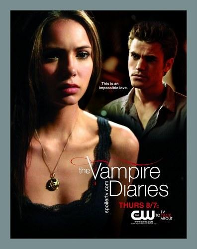 Stefan & Elena Poster