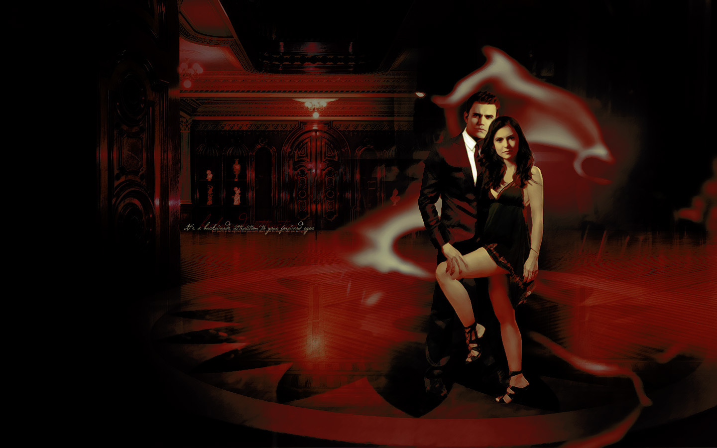 The Vampire Diaries Stefan & Elena
