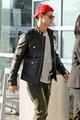 Taylor Lautner  Leave Vancouver - twilight-series photo