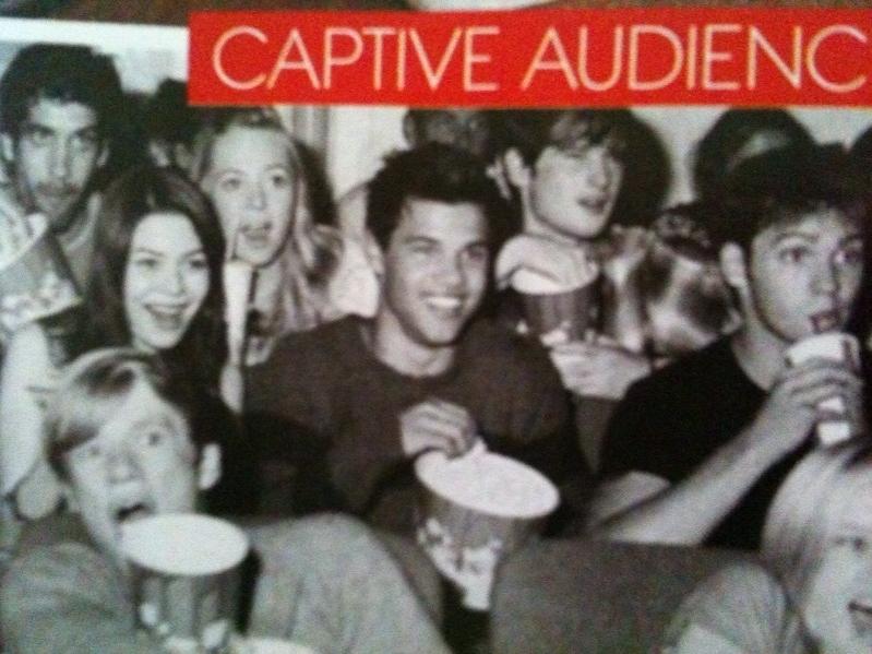 Taylor Lautner... is that Miranda C?