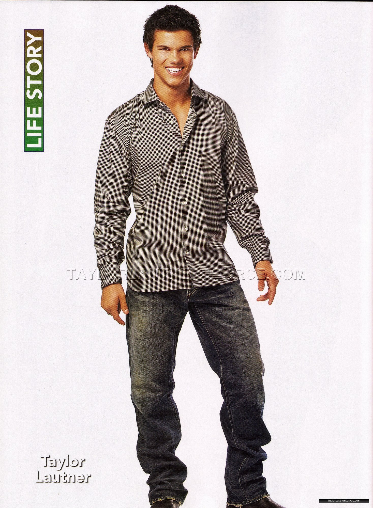 Taylor In Life Story Magazine Lautner