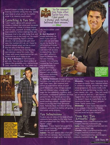 Taylor in Life Story Magazine