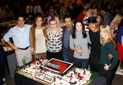 The Cast is celebrating the 100th Episode of Criminal Minds