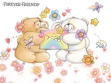 KEEP SMILING images The Forever Friends Bears and Lots of Smiles wallpaper and background photos