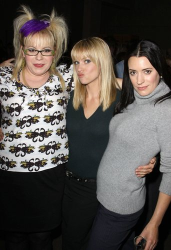 The Girls celebrating 100th Episode of Criminal Minds