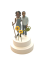 The Obamas Wedding Cake Topper - barack-obama fan art