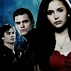 Vampire Diaries – Fernsehserie Foto containing a portrait called The Vampire Diaries