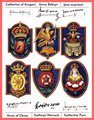 The wives badges