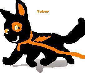Tober (Toby) the dog (Blacknesses boyfriend in the 秒 saga)
