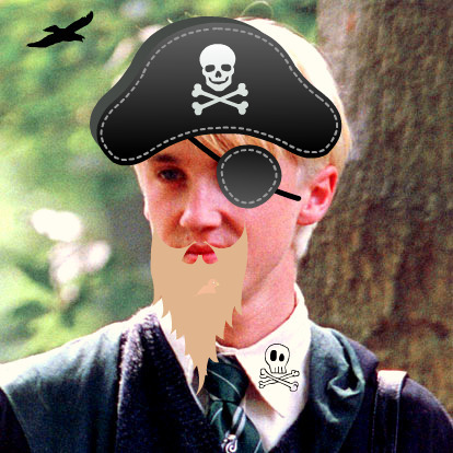 Tom Felton is a Pirate
