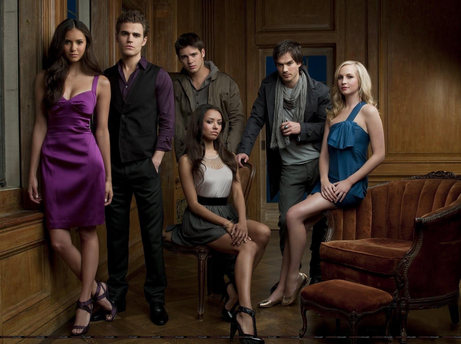 Vampire Diaries Main Cast - The Vampire Diaries Photo ...