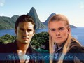 Will Turner & Prince Legolas - legolas-greenleaf wallpaper