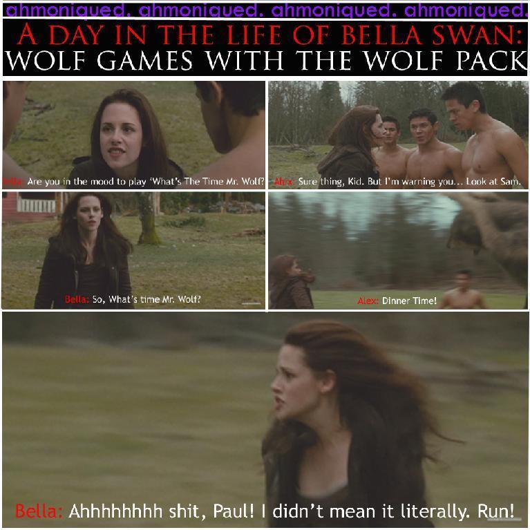 Wolf Games Joke. :)