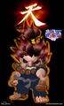 akuma pocket - street-fighter fan art