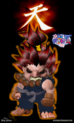 akuma pocket - street-fighter Photo