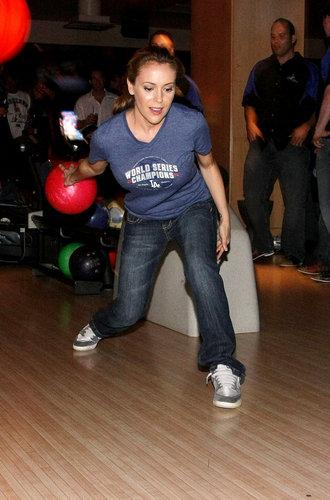 alyssa- 5th Annual State Farm Dodgers Dream Foundation Bowling