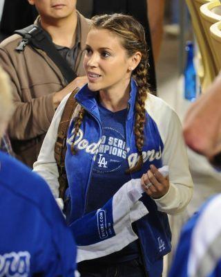 alyssa-Dodgers Game