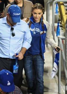 alyssa-Dodgers Game