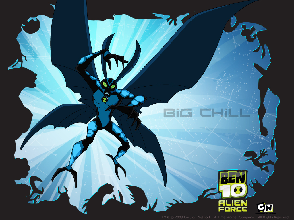 Ben 10: Alien Force big chill