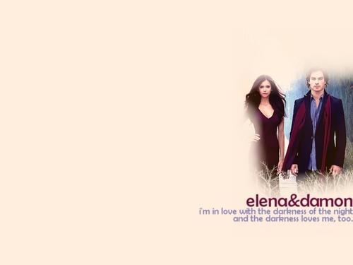 Деймон и Елена