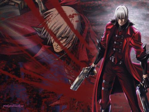 Devil May Cry - animê wallpaper possibly with a atirador and animê called devil may cry