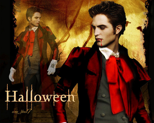 twilight Crepúsculo wallpaper possibly containing a business suit and anime called halloween edward cullen