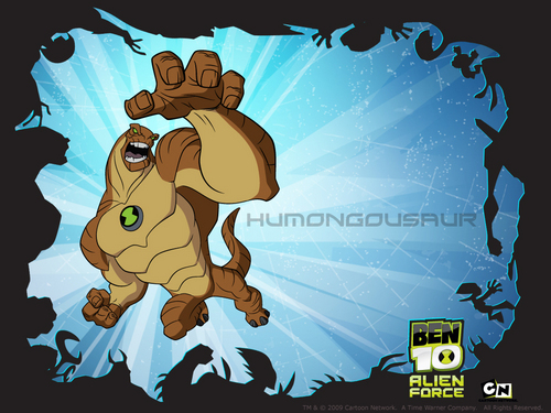 humugasaur - ben-10-alien-force Wallpaper