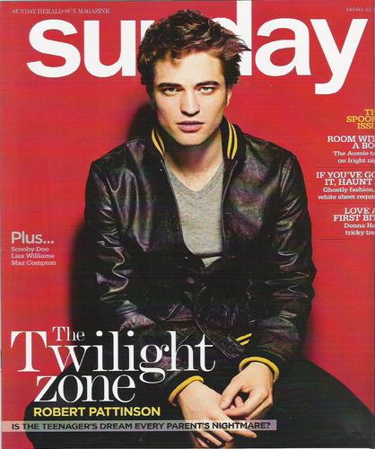 tHQ wilight zone - Robert Pattinson