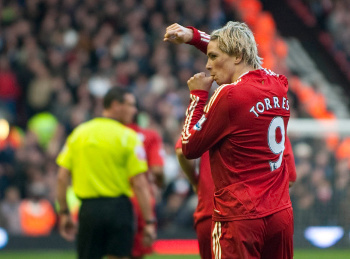 torres against utd