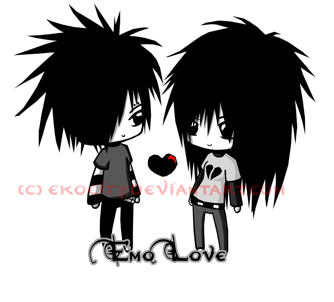 emo friends love