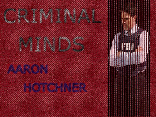 SSA Aaron Hotchner پیپر وال called Hotchner
