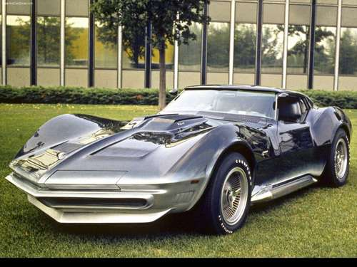 Chevrolet দেওয়ালপত্র possibly containing a roadster and a sports car entitled 1965 Chevrolet Corvette Manta রশ্মি Concept