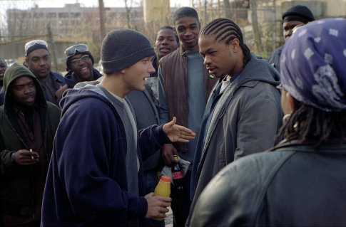 8 mile wallpaper probably with a cappuccio and a strada, via titled 8 mile