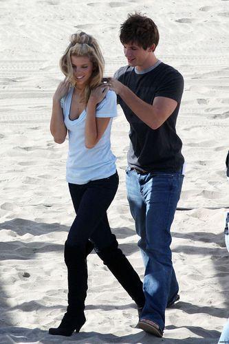 90210 - Set foto - 29th October -finally some scenes together!!!