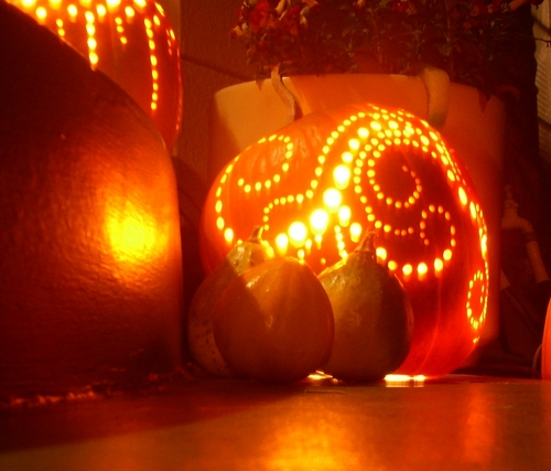 A great Jack O'Lantern I saw (2009)