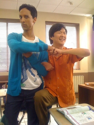 Abed and Señor Chang