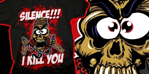 Achmed The Dead Terrorist T-Shirt design