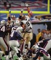 Adam Vinatieri's Super Bowl winning kick vs. Rams - new-england-patriots photo
