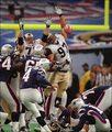 Adam Vinatieri's Super Bowl winning kick vs. Rams