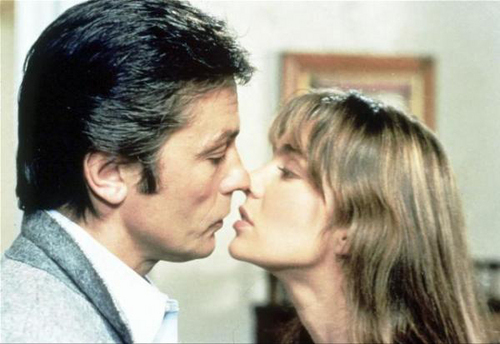 Alain Delon and Anne Parillaud - Pour la peau d'un flic