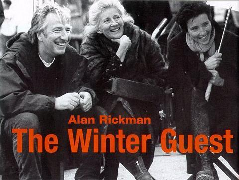 Alan directing Winter Guest 1997
