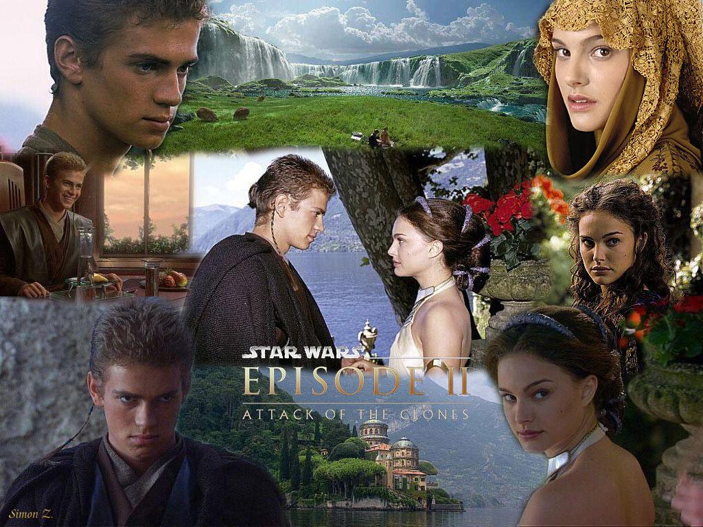 Anakin & Padmé fond d'écran